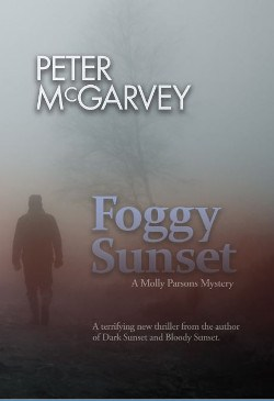 Foggy Sunset by Peter McGarvey